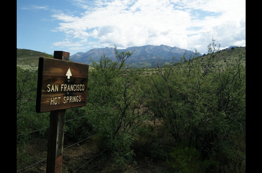 Hiking to San Francisco Hot Springs Near New Mexico Cabin Rentals