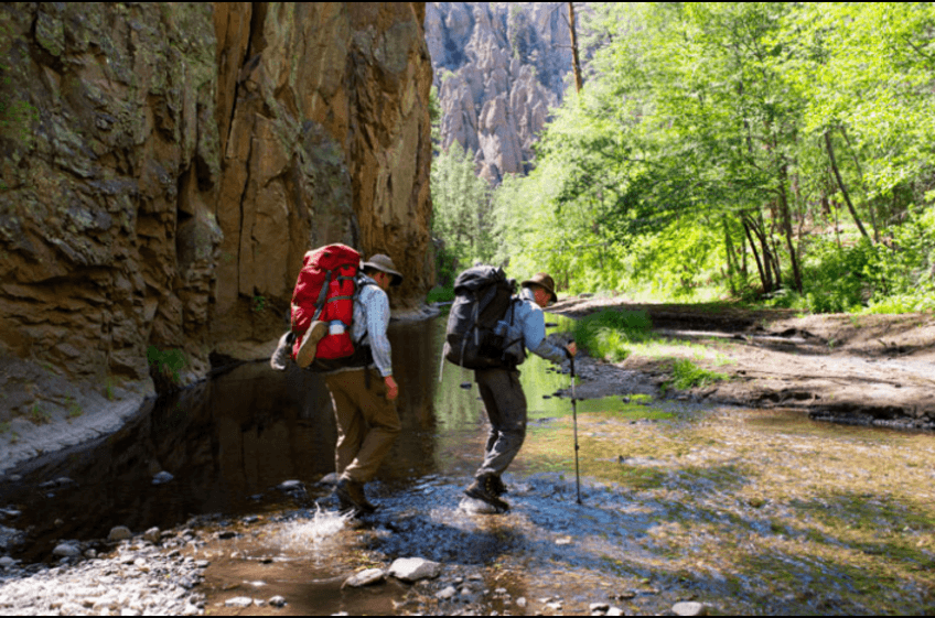 From rugged mountain trails to the lush canyons along the Gila River - hiking is unlimited!