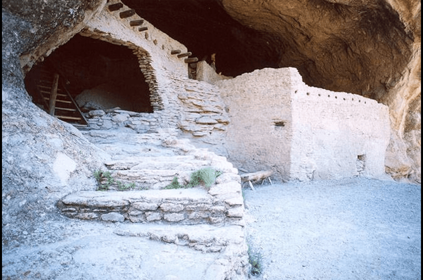 A visit to the Gila Cliff Dwellings Monument is a convenient day trip away from New Mexico Cabin Rentals