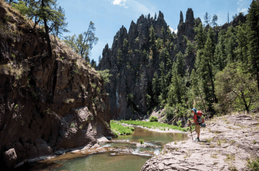 Hiking the West Fork of the Gila River