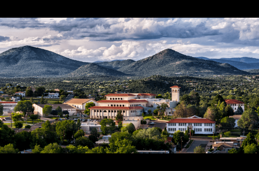 Western New Mexico University, Silver City NM is 32 miles from New Mexico Cabin Rentals