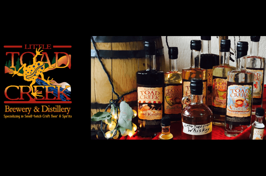 Little Toad Brewery & Distillery in Historic Silver City NM is jut 32 miles from New Mexico Cabin Rentals