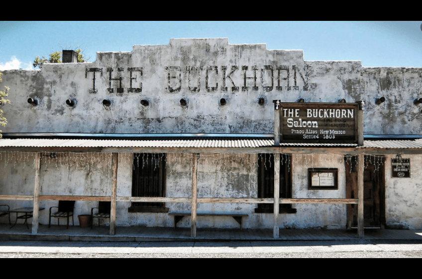 Buckhorn Saloon & Opera House in PInos Altos NM makes a fun day trip from New Mexico Cabin Rentals.  Great food & Entertainment
