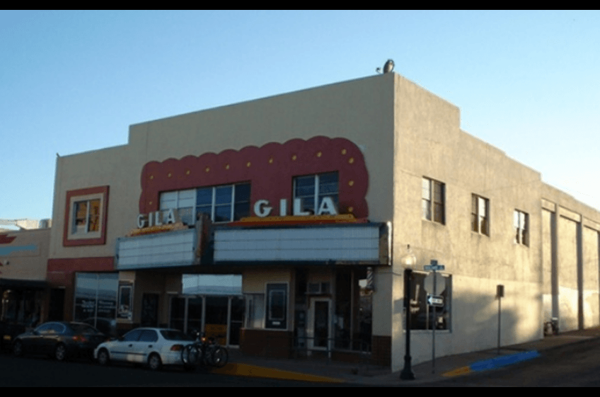 The Gila Theater in Silver City New Mexico