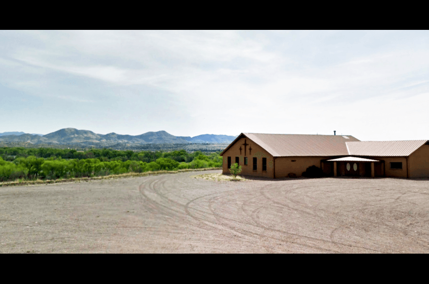 Trinity Presbyterian Church, Cliff NM 7 miles west of New Mexico Cabin Rentals and Double E Ranch