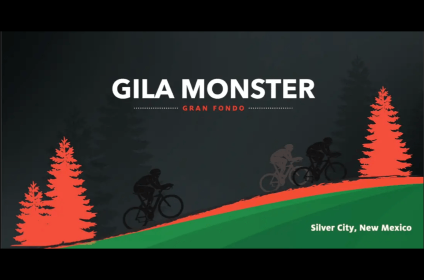October 19, 2019 is set for the Gila Monster Gran Fondo to begin in Silver City, New Mexico.