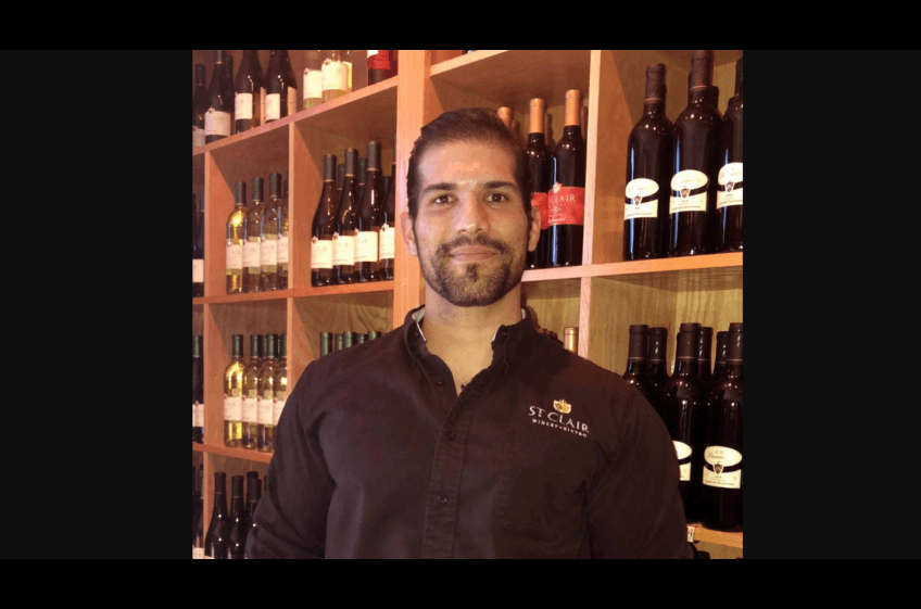 Thomas Perez, General Manager at St Clair's Las Cruces Bistro, ensures quality pairings, unique menu.  Just 2 hours from your Cabin at Double E Ranch.