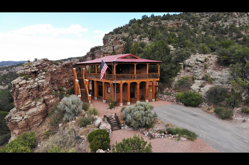 High Desert Bear Creek Canyon Retreat offers seclusion, privacy and natural beauty in every direction.