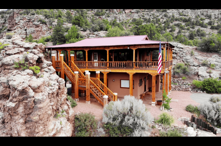 Bear Creek Canyon Retreat at New Mexico Cabin Rentals