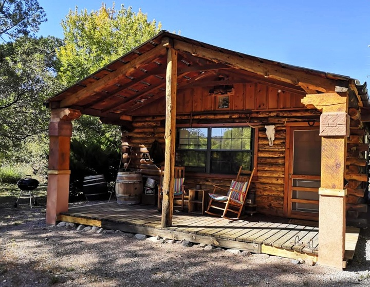 Pinon Log Cabin - Southwest New Mexico Escape Near Gila Forest