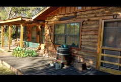 Log Cabin With South West Style, 1 Bedroom Near Gila Forest, Silver City NM