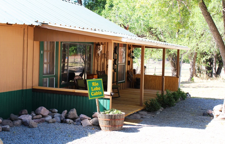 Ranch Cabin Tucked Along Edge of Gila Forest